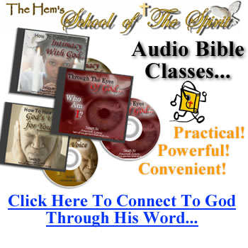 Audio Bible Studies On Intimacy with God