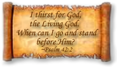 Bible Study Online Psalm 42 Plaque